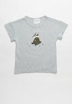 POP CANDY - Boys printed T-shirt - grey