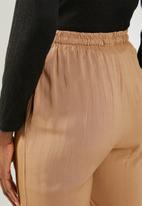 edit - Loose fit lounge pants - tan