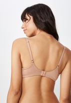 Cotton On - Ultimate comfort T - shirt bra - beige