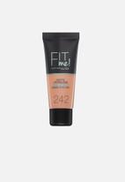 Maybelline - Fit me foundation matte & poreless - 242 light honey
