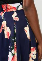 edit - Fit & flare skirts - navy