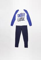 MINOTI - Snooze you lose long sleeve pyjama set - multi