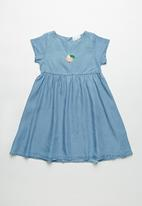 POP CANDY - Girls denim dress - blue