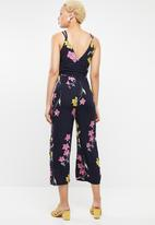 STYLE REPUBLIC - Tie front jumpsuit - multi