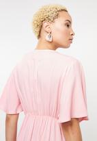 STYLE REPUBLIC - High low blouse - pink