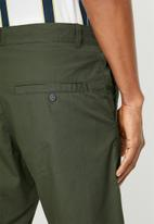 STYLE REPUBLIC - Twill shorts - green