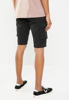 STYLE REPUBLIC - Cargo shorts - black