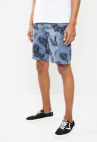 STYLE REPUBLIC - Printed Jordan shorts - blue