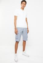 STYLE REPUBLIC - Cargo shorts - blue
