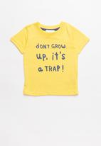 POP CANDY - Baby Boys T-shirt - yellow