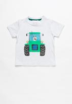 POP CANDY - Boys printed short sleeve tee - grey