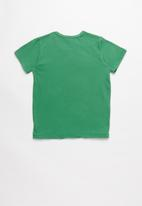 POP CANDY - Printed short sleeve tee - green