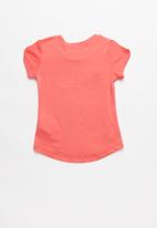 POP CANDY - Baby Girls Printed Tee - coral