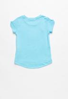 POP CANDY - Baby Girls Printed Tee - blue