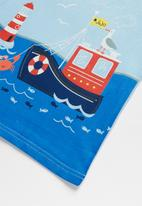 POP CANDY - Boat tee - blue