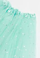 POP CANDY - Mesh skirt - turquoise