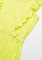POP CANDY - Girls dress - yellow