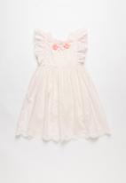 POP CANDY - Ruffle dress - pink