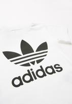 adidas Originals - Trefoil tee adidas - white & black