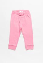 POP CANDY - Baby girls elastic pants - pink