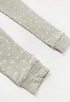 MINOTI - Teens long sleeve pyjama set - grey