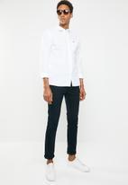 Tommy Hilfiger - Tjm solid poplin woven shirt - white