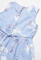 POP CANDY - Girls floral print dress - blue