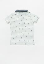 POP CANDY - Baby boys polo shirt - white