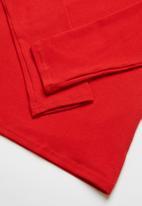 Rebel Republic - Kids 2 pack long sleeve top - black & red