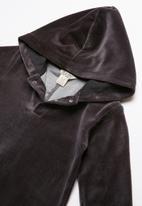 Cotton On - Velour romper - black