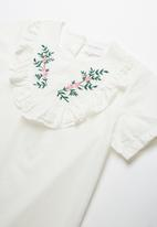 POP CANDY - Girls floral print blouse - white