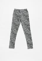 Rebel Republic - Kids 2 pack leggings - black & white