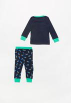 MINOTI - Dinosaur long sleeve pyjama set - multi