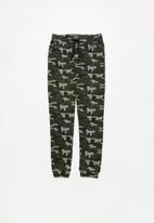 MINOTI - Teen boys camo jogpant - grey & black
