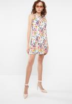 c(inch) - A-line dress - multi