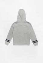 MINOTI - Teens hooded zip thru - grey