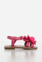 POP CANDY - Girls flower sandals - pink