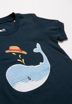 POP CANDY - Whale print pj set - multi