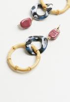 STYLE REPUBLIC - Statement earrings - multi
