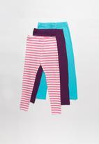 POP CANDY - Kids 3 pack printed leggings - multi