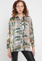 Missguided - Chain print shirt - multi