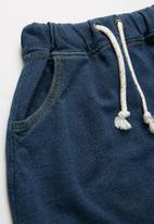 POP CANDY - Boys denim jean shorts - blue