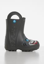Crocs - Crocs fun lab creature kids rain boot - grey