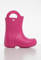 Crocs - Handle it kids rain boot - pink