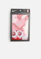 Nike - 3 Piece infant set - pink