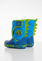 Crocs - Crocs fun lab monster kids boots - blue & green
