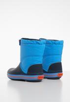Crocs - Crocs Crocband lodge point kids boots - navy & blue
