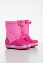 Crocs - Crocs Crocband lodgepoint kids boots - pink