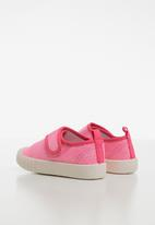 POP CANDY - Girls velcro strap sneaker - pink