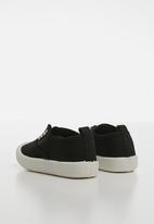 POP CANDY - Canvas slip on - black